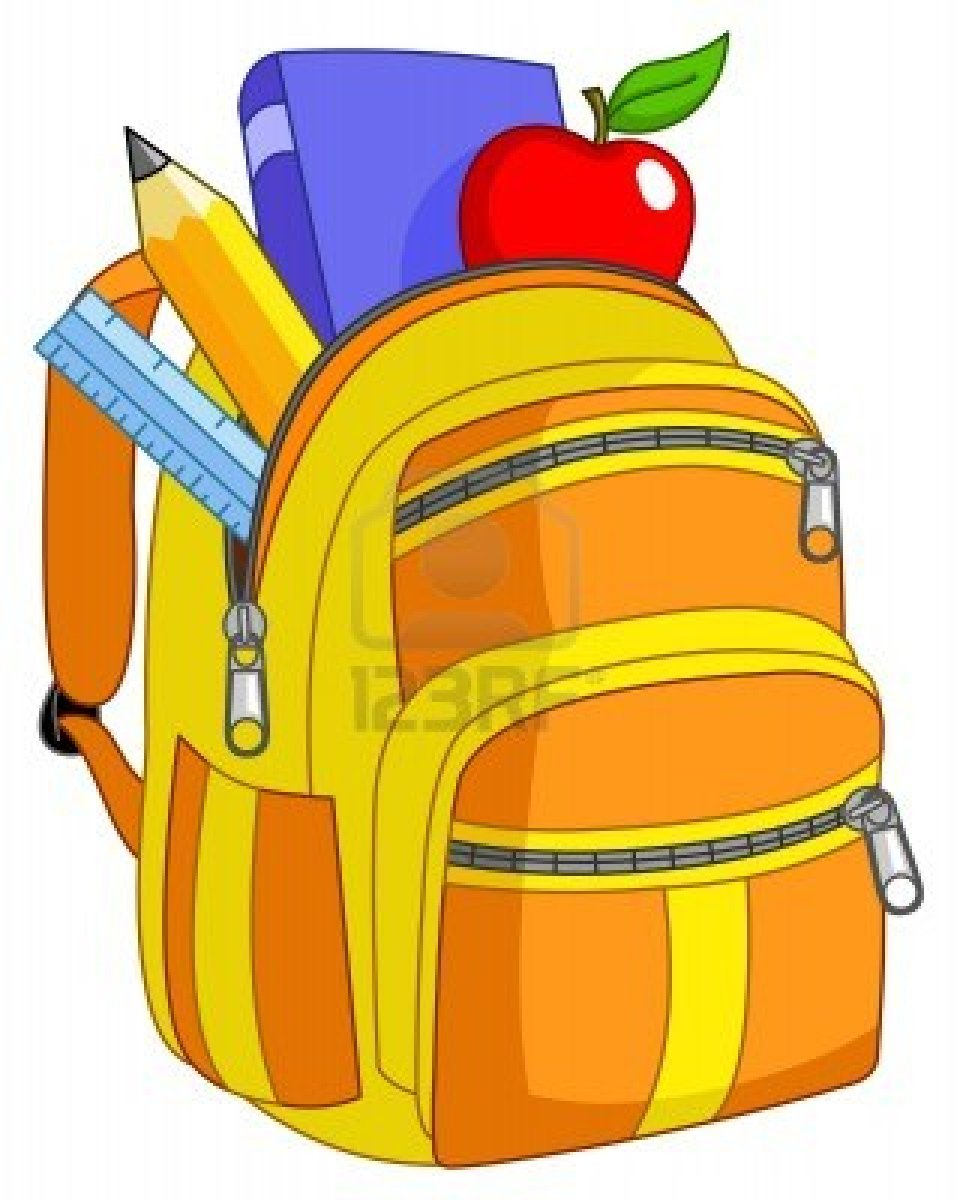 School backpack clipart 9920738 school backpack ossian - Clipart cartable ...